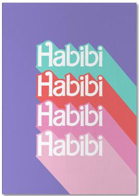 Habibi Rainbow bloc-notes
