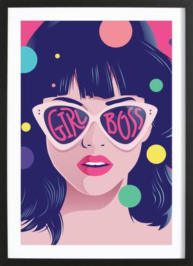 Girl Boss Framed Print