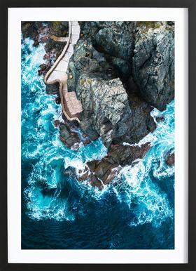 Rock House Framed Print