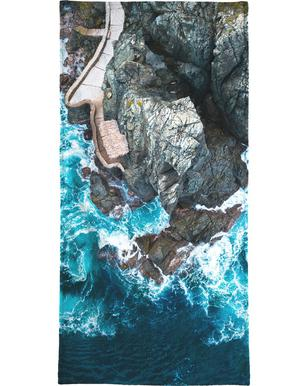 Rock House Beach Towel