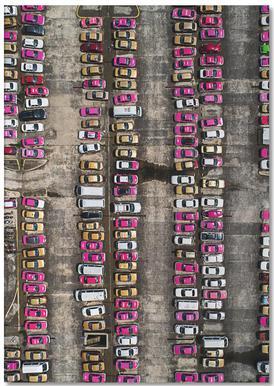 Taxi -Notizblock