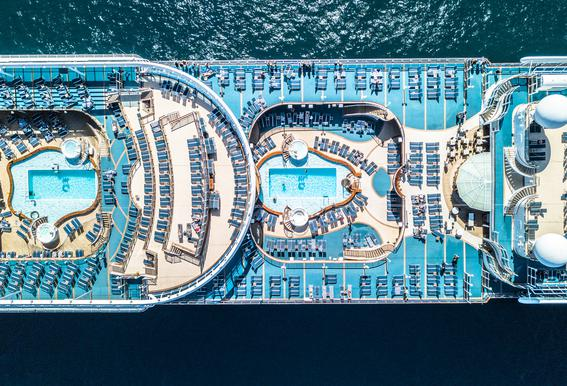 Cruise Impression sur alu-Dibond