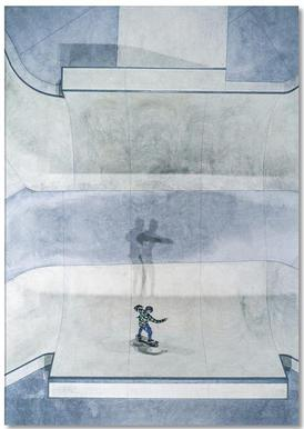 Skate -Notizblock