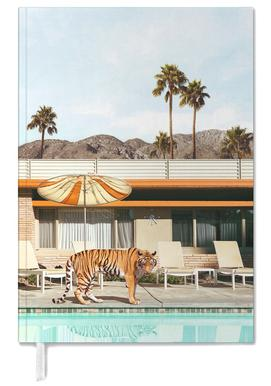 Pool Party Tiger Personal Planner