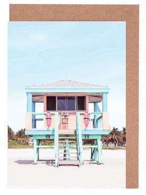 South Beach Greeting Card Set