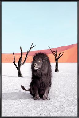 Namibia ingelijste poster