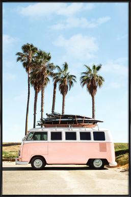 Venice Beach ingelijste poster