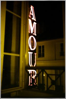 Amour Poster in Aluminium Frame