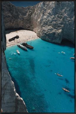 Greece Framed Poster