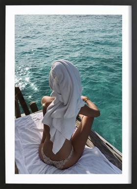 Maldives Framed Print
