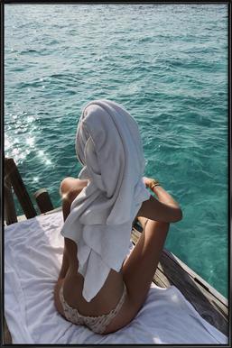 Maldives Framed Poster