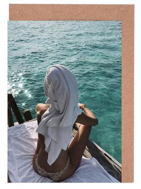 Maldives Greeting Card Set