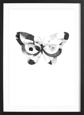 Dark Butterfly Framed Print