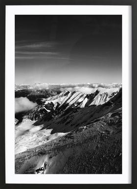 Mountains II Framed Print