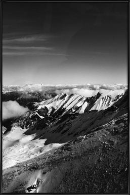 Mountains II affiche encadrée