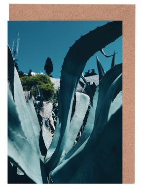 Aloe Vera Leaf wenskaartenset