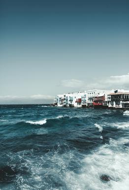 Wild Sea Waves alu dibond