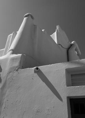Greek Corners canvas doek