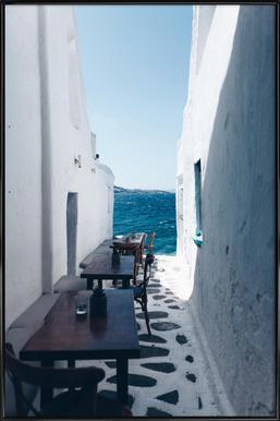 Dreamy Coffee Corner ingelijste poster