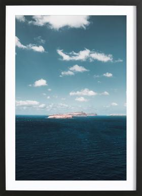 Dream Island ingelijste print