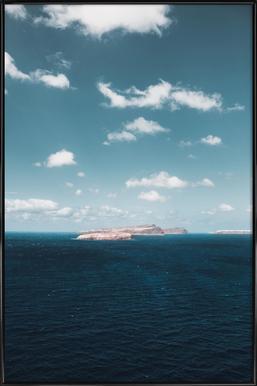 Dream Island ingelijste poster