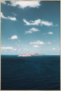Dream Island poster in aluminium lijst