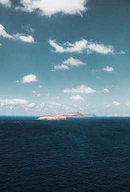 Dream Island acrylglas print