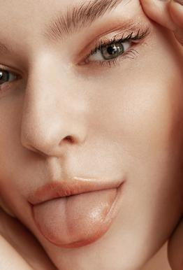 Feisty Face acrylglas print