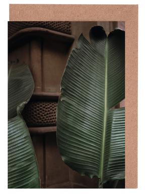 Leaves in Barcelona Greeting Card Set