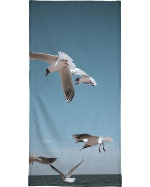 Seagulls II strandlaken