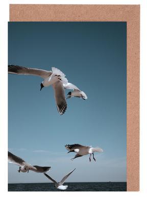Seagulls II Greeting Card Set