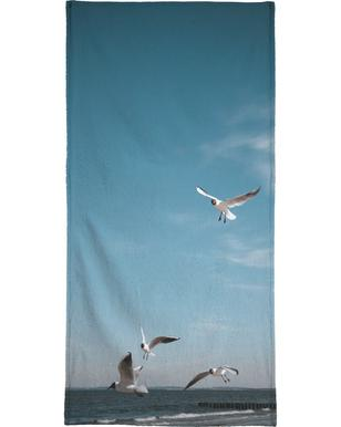 Seagulls IV Bath Towel