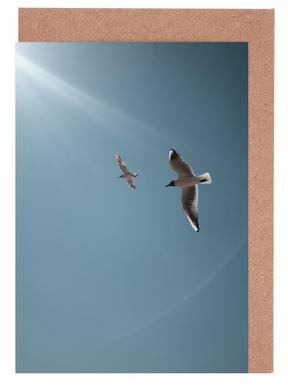 Seagulls VI Greeting Card Set
