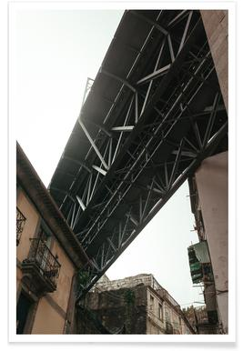 Bridge in Porto poster