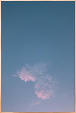 Dreamy Skies II Poster in Aluminium Frame