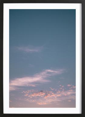 Dreamy Skies III ingelijste print