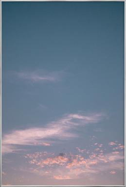 Dreamy Skies III affiche sous cadre en aluminium