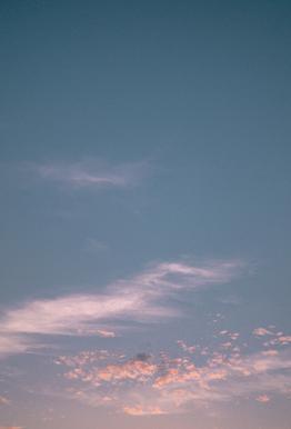 Dreamy Skies III acrylglas print