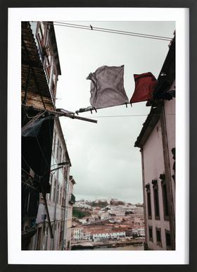 Bridge in Porto Framed Print