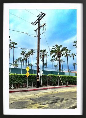 LA Jolla Shores Framed Print