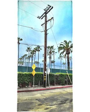 LA Jolla Shores Beach Towel