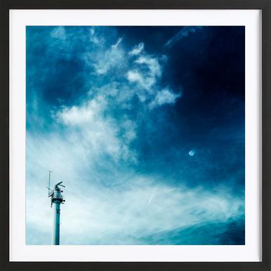 Weather Station Framed Print