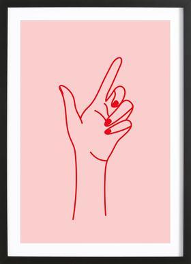 Girlboss Framed Print