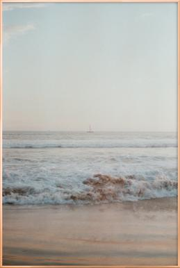 Ocean Breeze Poster in Aluminium Frame