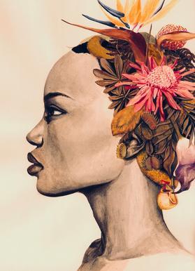 Africa canvas doek