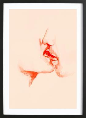 Desire ingelijste print