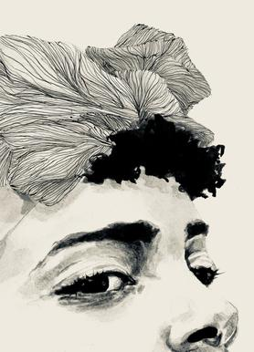Look Canvas Print
