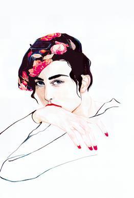 Madame Bruno acrylglas print