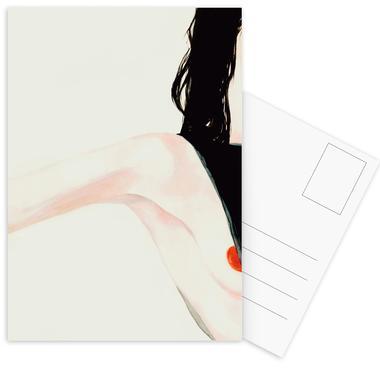 Naughty Postcard Set