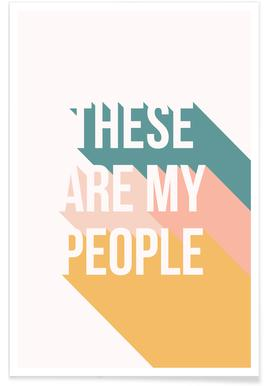 These Are My People -Poster
